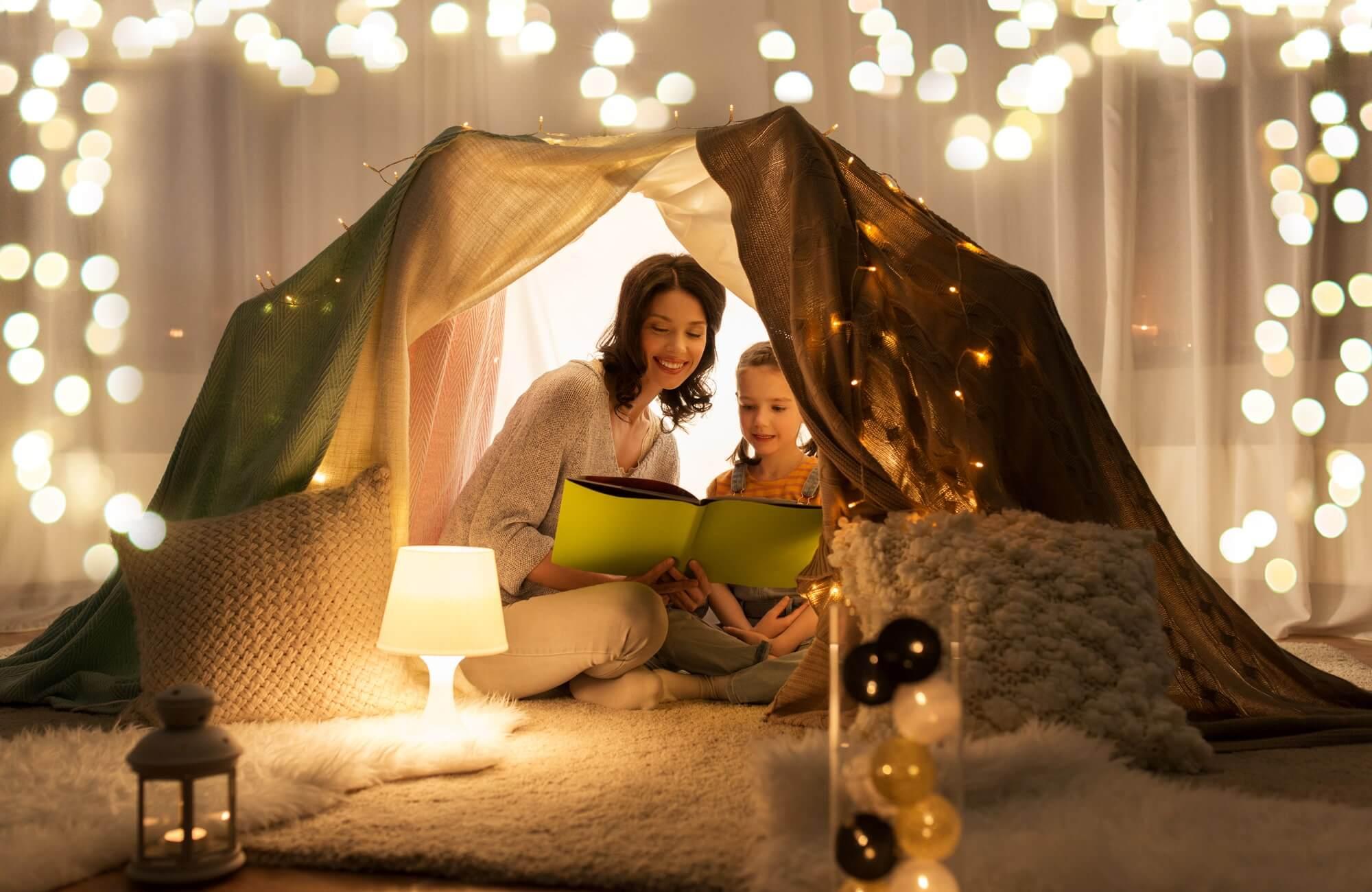 rituel camping maison